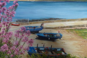 .Ardmore Boat strand ' Maria Dowling