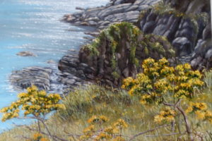 'Gorse on the Cliff' Maria Dowling