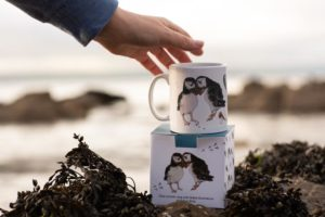 Puffin mug by molly ellis ewesir